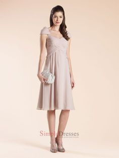 short formal v neck dresses with cap sleeves for plus size | Home > Select by Type > Short Prom Dresses > A-line Cap sleeves V ...