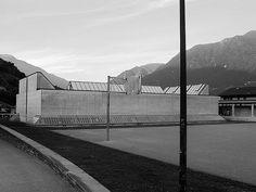 Luigi Snozzi, Monte Carasso, Gym