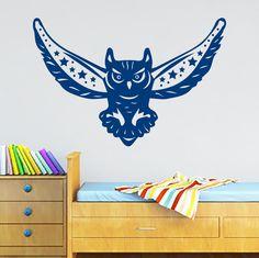 Wall Decals Owl Bird Flight Fly Star Kids Nursery Room Vinyl Sticker Decor MR409 #STICKALZ #MuralArtDecals