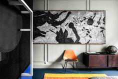 French Metal Rack: Paris Apartment by Marcante-Testa * Interiors * The Inner Interiorista Deco Paris, Architecture Design, Turbulence Deco, Family Apartment, Apartment Interior, Metal Rack, Piece A Vivre, Interior Design Studio, Elle Decor
