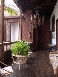 TYPICAL ARCHITECTURE, LOS BALCONES HOUSE, La Orotava, Tenerife, Canary Islands, Spain