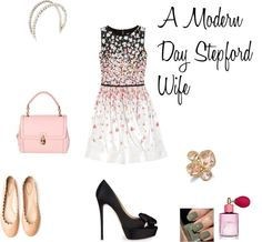 """A Modern Day Stepford Wife"" by lpstyle ❤ liked on Polyvore"