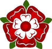 Tudor Rose tattoo.