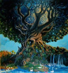 fantasy tree - Google Search