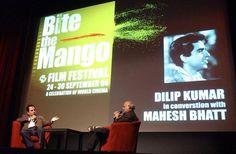 BTM - Dilip Kumar in conversation with Mahesh Bhatt Conversation, Broadway Shows, Cinema, Film, Music, Movie, Musica, Movies, Musik