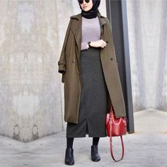 Mixing and matching beautiful winter hijab – Just Trendy Girls