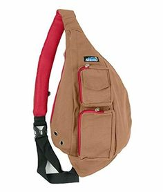 Sling Backpack Bag - Small Single Strap Crossbody Pack Women Men (Tobacco  Brown)   5aea18996907d