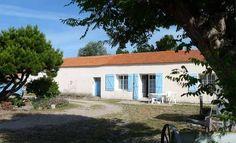 Ancienne maison traditionnelle à Barbâtre, Noirmoutier