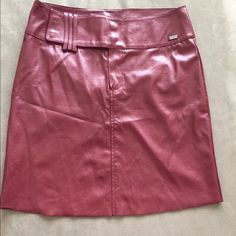 Guess oxblood faux leather pencil skirt Slightly deeper color. This item is in good condition but it has been worn please ask any questions before purchasing. This item will only be traded for an autographed Authentic Chanel original, a Lamborghini, a penthouse in Paris, or the services of an Audi mechanic. All orders will be recorded before shipping. I do not model. Please see my reasonable offer chart before submitting an offer. Guess Skirts Pencil