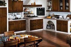 Cucina in muratura fai da te - La cucina - Cucina in muratura ...