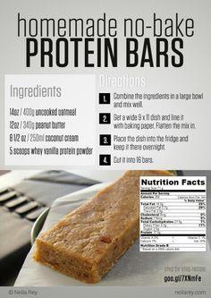 Neila Ray protein bars