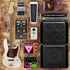 One rig for one iconic Flea from Red Hot Chili Peppers