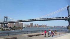 This is where we work - New York City. Beautiful summer afternoon. #BrooklynBridge #Brooklyn #Manhattan #NewYork #NYC #summer #vacation #IloveNY