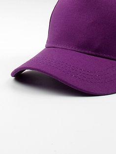 Girls Plain Baseball Cap Girl Baseball Cap, Plain Baseball Caps, Cap Girl, Kids Hats, Romwe, Hats For Kids