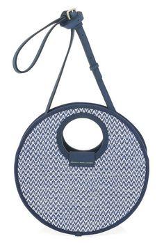 Marc by Marc Jacobs Isle de Sea XBody bag in Blue Zig-Zag