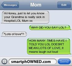 - Autocorrect Fails and Funny Text Messages - SmartphOWNED