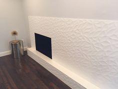 #FunTileFriday highlights an accent fireplace installation by @eric Mejia out of Dallas, Texas, using our Jazz White in matte! #FunTile #Friday #TGIF #textured #tile #walltile #fireplace #accent #decor #designer #tiles #interiordesign #livingroom #homedecor #white #blanc #3d #dallas #texas #tx #southern #living #jazz #ceramic #flooring #floor #DIY #Build #design