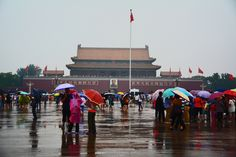 Beijing, the Gate of heavenly peace and Tiananmen square, photographer-Tereza Večerková