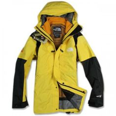 The North Face hot Men's Yellow Gore-Tex Xcr Jacket 3 In 1 Jacket, Gore Tex Jacket, Rain Jacket, North Face Hoodie, North Face Jacket, North Face Outlet, Cheap North Face, Yellow Black, Windbreaker