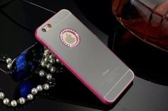 Pink diamond mirror iphone6/6S case & glass tempered screen protector on Storenvy