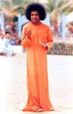 """""""See God in every one you meet; see God in every thing you handle. Live together, revere each other, let not the seeds of envy and hate grow and choke the clear stream of Love.""""  ~ Sri Sathya Sai Baba"""