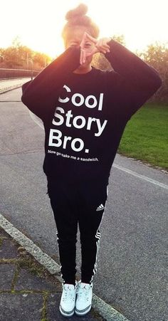 Cool story bro sweater