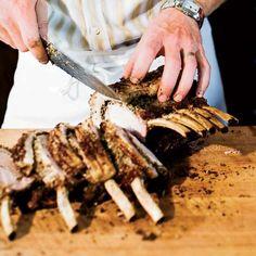 Garlic-and-Spice-Rubbed Pork Loin Roast