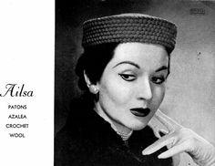 Vintage 1940s Knitting & Crochet Patterns Book Hats and Gloves ORIGINAL patterns not PDF. $14.00, via Etsy.