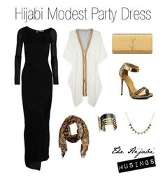 Hijab Party Ideas modest party outfit inspiration a hijabi can pull up for a night party Hajib Fashion, Modest Fashion, Fashion Outfits, Modest Dresses, Modest Outfits, Simple Dresses, Muslim Women Fashion, Islamic Fashion, Hijab Evening Dress