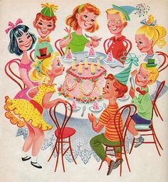 Happy Birthday by Retta Worcester, 1960