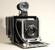 Vintage film camera Linhof Standard Press  1950s field camera, lens and viewfinder on Etsy, $775.00