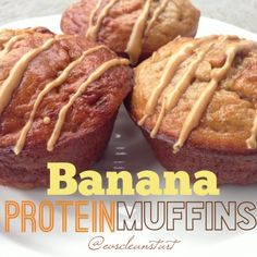 Ripped Recipes - Banana Protein Muffins - A protein muffin so good, you think you're cheating!