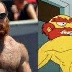 Parecidos a los Simpsons
