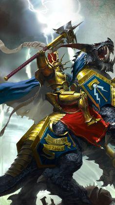 Age of Sigmar - Hero Warhammer Art, Warhammer Fantasy, Warhammer 40000, Dark Fantasy Art, Fantasy Artwork, Character Concept, Character Design, Stormcast Eternals, Angel Warrior