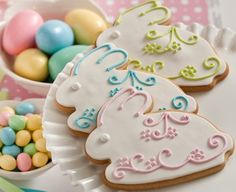 Easter Bunny Cookie Inspiration