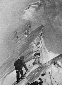 One of the last photos taken of Hermann Bruhl; June 26, 1957.