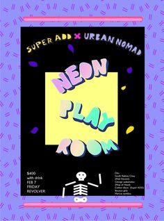 Super ADD X Urban Nomad《Neon PLAY ROOM 螢光樂園》 feat. Mad Decent — Super ADD