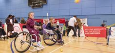 Parasport come and try events. #joyofsport  Whether you are already taking part, or just looking to have a go at something new, there are lots of initiatives to help you to get the best out of Paralympic and disability sport.   http://paralympics.org.uk/get-into-sport