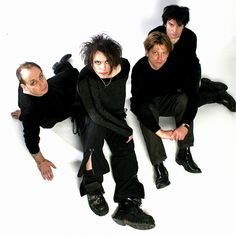 The Cure, love them!  Robert Smith rules for sure!