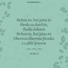 15 Soul-Stirring Lyrics By Prasoon Joshi That Prove He's One Of The Finest Writers Of Our Time Best Lyrics Quotes, Love Song Quotes, Snap Quotes, Music Quotes, Poetry Quotes, True Quotes, Poetry Hindi, Drama Quotes, Instagram Caption Lyrics