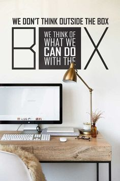 Wall decal, Wall Stickers , Wall Quotes , Office decal , Quote Decal  008
