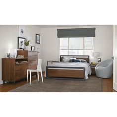 Slim C-Table in Natural Steel - Modern End Tables - Modern Living Room Furniture - Room & Board