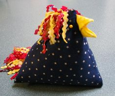 Chicken Pin Cushion by ChickenDoodles on Etsy