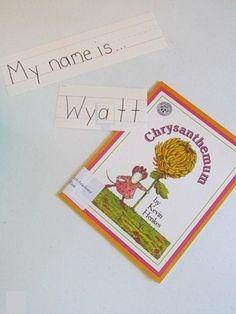The Perfect Name - Teach Preschool