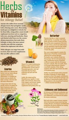 Herbs and Vitamins for Allergy Relief