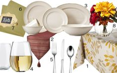 - A Happy Place Called Home - Set the Table: Thanksgiving Shopping List FromTarget