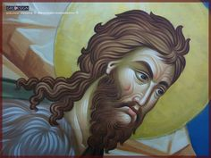 Iconographer Qirjako Kosova (Gridesign- Iconography) The Video… Jean Baptiste, Painting Process, Religious Art, Vignettes, Techno, Disney Characters, Fictional Characters, Saints, Facebook