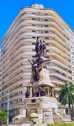 Praça Independência, Santos