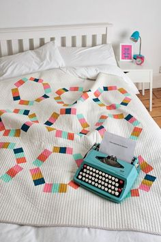"""Taffy Pull Quilt 