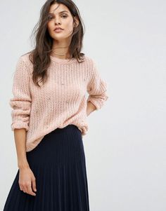 Suncoo Scatter Embellished Knit Sweater